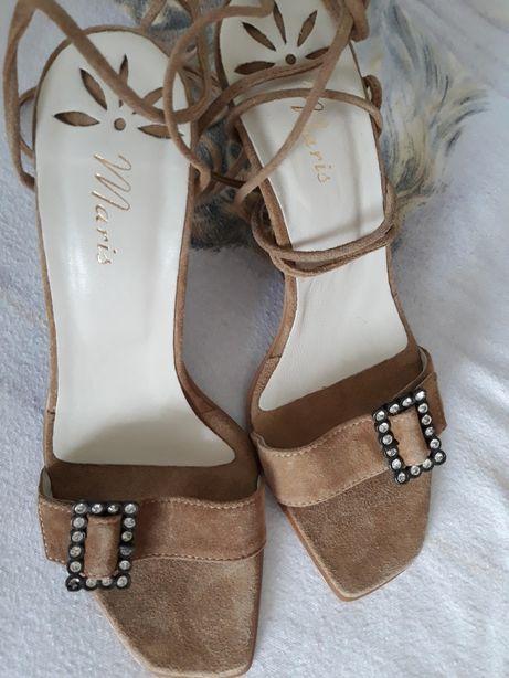 Sandale damă noi piele întoarsă
