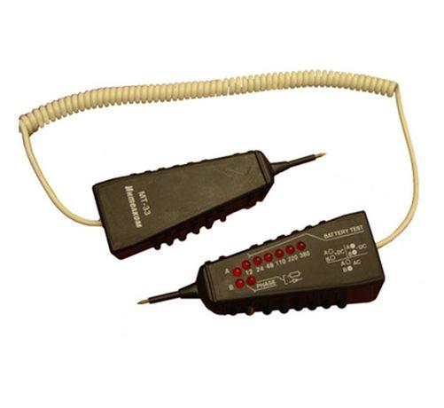 /-15%/Български тестер на напрежение и верига 6в1 МТ-33 12-380VAC/VDC