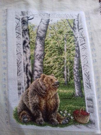 "Гоблен ""Кафява мечка"""