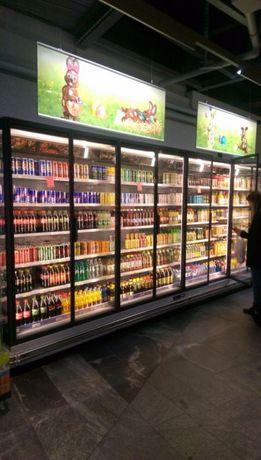 Хладилни витрини и професионално оборудване за супемаркети.