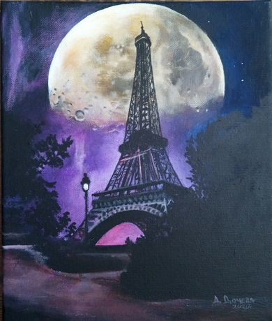 """Night in Paris""36,5/41,5"