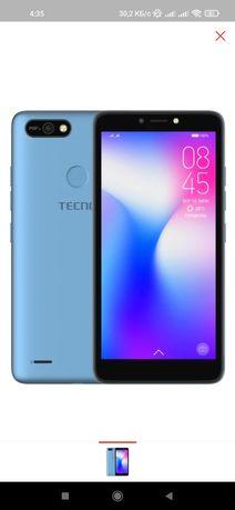 Смартфон TECNO POP 2F 1/16Gb голубой