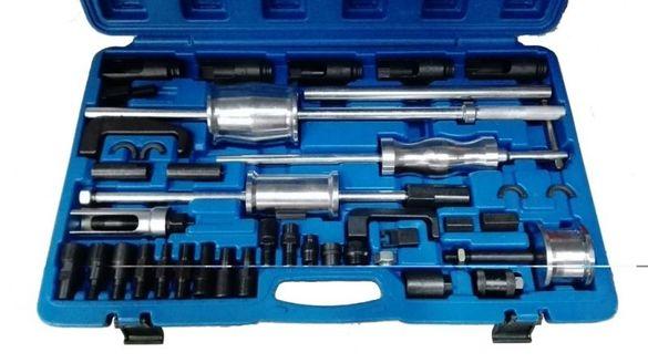 Комплект МАСТЕР за демонтаж на дизелови инжектори(дюзи) 40 части