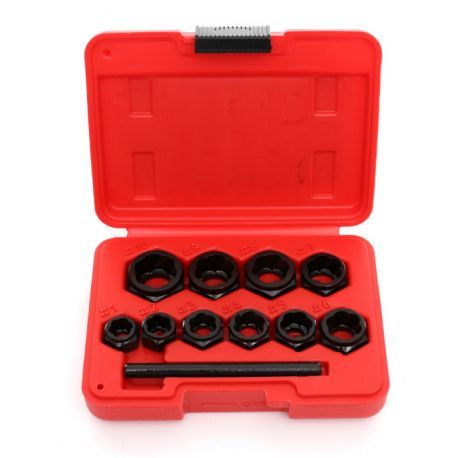 Extractor pentru șuruburi sparte (profil redus) 10 buc KD10269