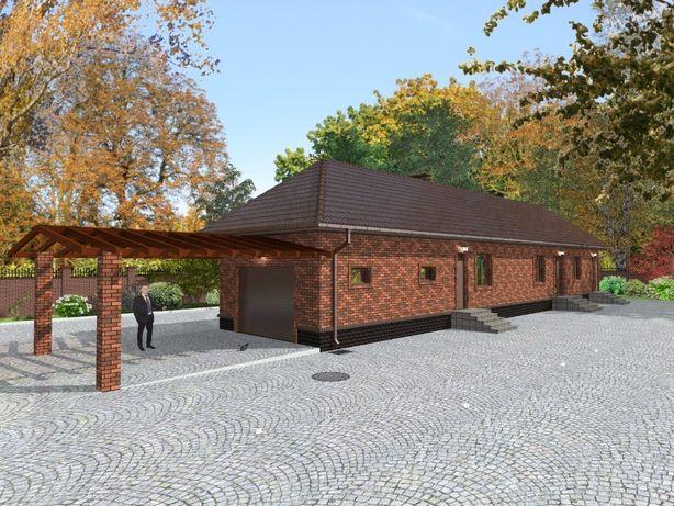 Эскизный проект на жилой дом (ИЖС) Разрешение на строительство