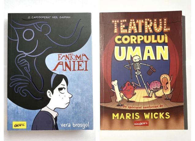 Carte benzi desenate Fantoma Aniei  / Teatrul Corpului Uman
