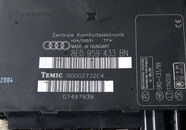 Calculator confort audi a4 b6 b7 8e0959433 an am al ap si alte coduri