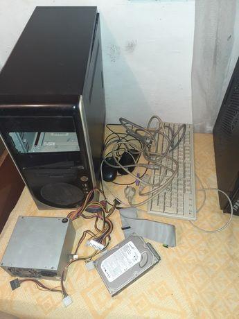 Компьютер настольный и запчасти