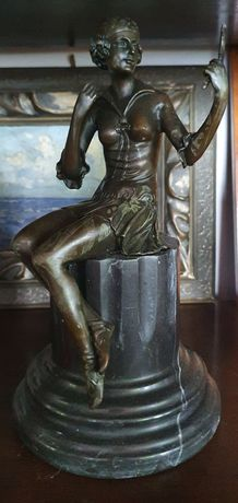 Statuetă Bronz *** vintage / antic / retro ***
