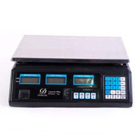 Cantar Electronic 40Kg, Platforma Inox, Micul Fermier, pentru pepeni
