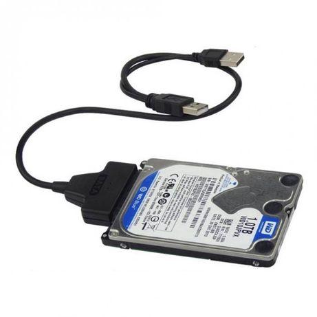 """USB кабел за връзка към твърд диск 2.5"""" SATA HDD / SSD + Гаранция"""