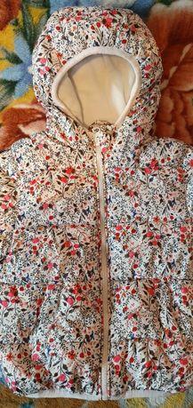 Продам детскую курточку на девочек Baby Go, на теплую зиму, рост 92