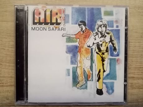 AIR French Band - Moon Safari (CD, Album)