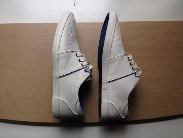 "Adidași casual - APT ""BENSON"" WHITE Loafer Shoes"