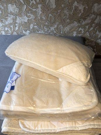 Новые немецкие надматрацники и подушка