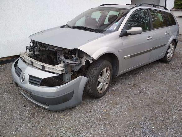 Рено меган 1,9 дци 120кс. Renault Megane 1,9dci.Продава се на части.