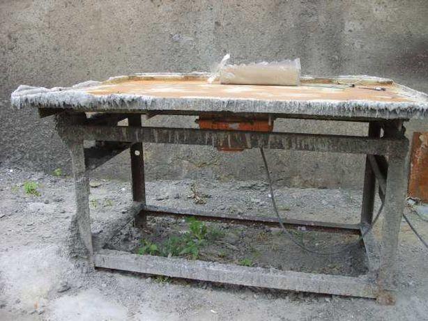 вибростанок для производства тротуарной плитки
