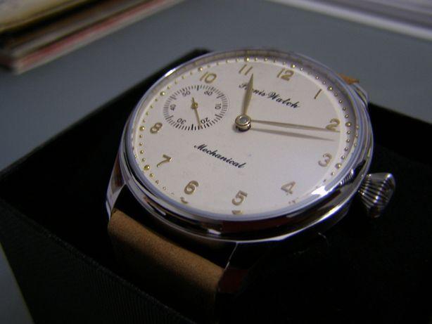 ceas de mana barbatesc mecanic Parnis nou