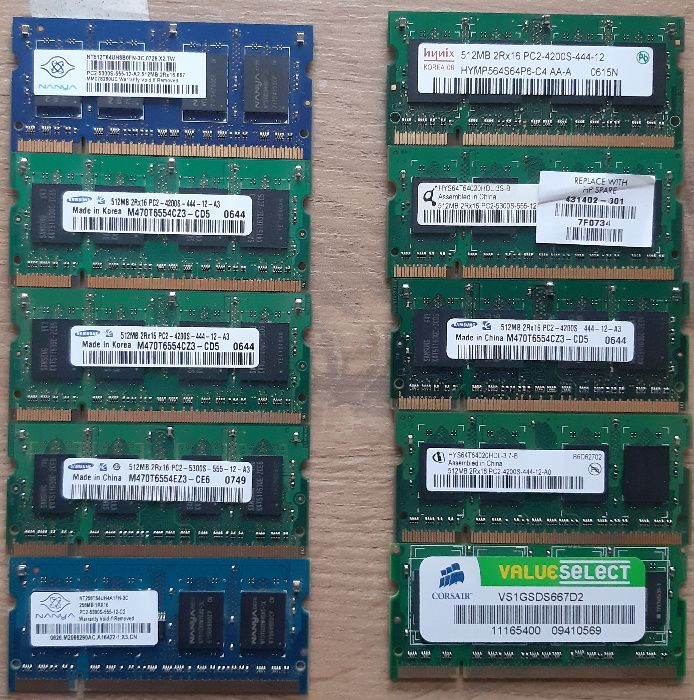 Memorie Ram laptop diverse modele si capacitati Iasi - imagine 1