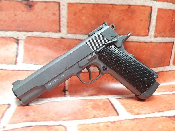 Reducere 4.5j upgradat Colt 1911 Full Metal pistol airsoft+cutie+co2