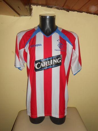 tricou glasgow rangers diadora sezon 2003-2004 away marimea L