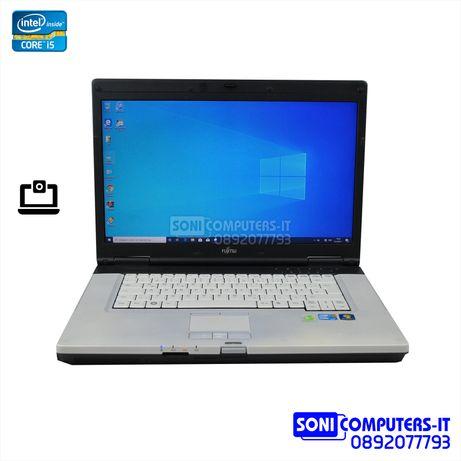 "15,6"" Лаптоп Fujitsu LifeBook E780 i5 M520  4GB DDR3 320GB HDD  Камера"