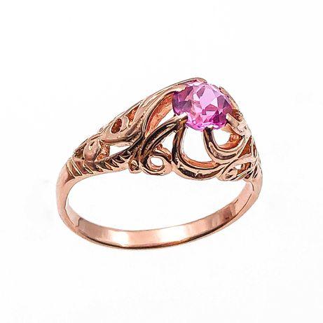 АКЦИЯ! Золотое кольцо с рубином, красное 585 «Ломбард Верный» Г5836