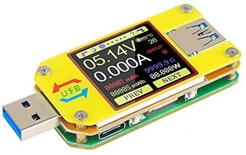 Tester usb bluetooth um34c rezistenta acumulatori powerbank  capacitat