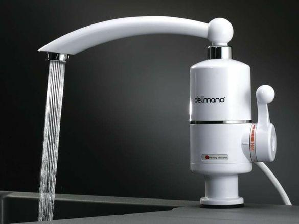 Бързонагряващ смесител за вода до 60 градуса