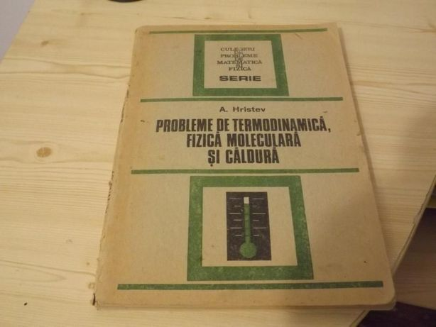 Probleme de termodinamica Hristev