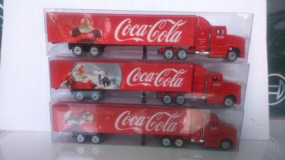 Продавам камиончета на Coca-Cola