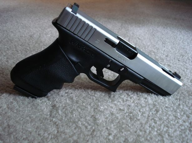Pistol MODIFICAT! Smith&Wesson FULL METAL SLIDE/airsoft Spring/Arc co2