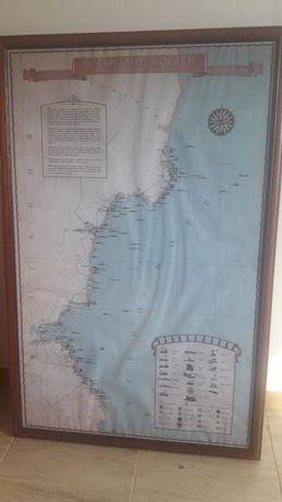 Карта на  потъналите кораби в Черно море