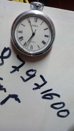 Колекционерски джобен часовник Заря