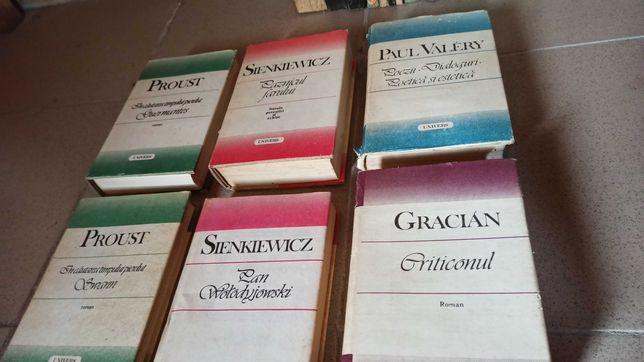 Carti beletristica Proust , Sienkiewicz