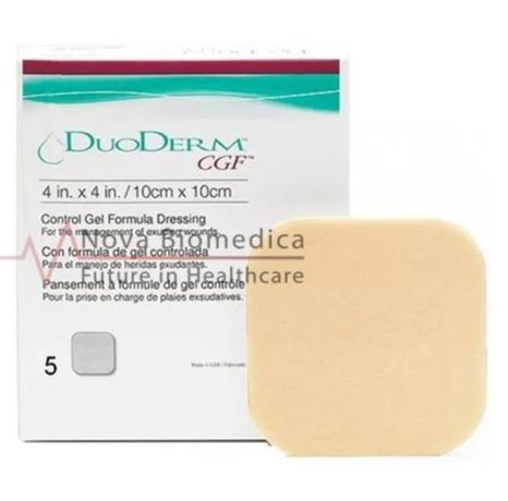 DUODERM® CGF ( GRANUFLEX ) – хидроколоидна превръзка 10х10