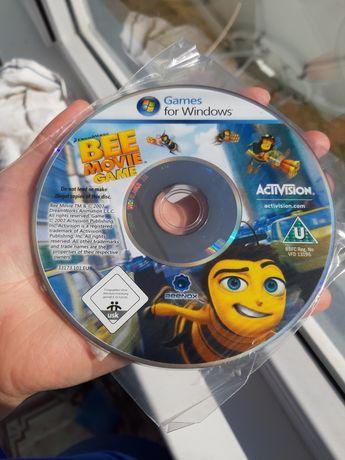 Диск с игрой по мультфильму Bee Movie
