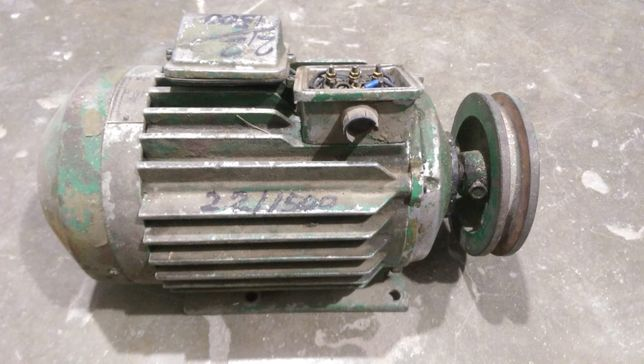 Motor trifazic 2,2 kw 1500 rot/min