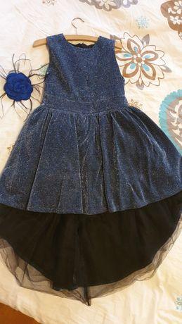 Официална рокля за дете 118-124 см