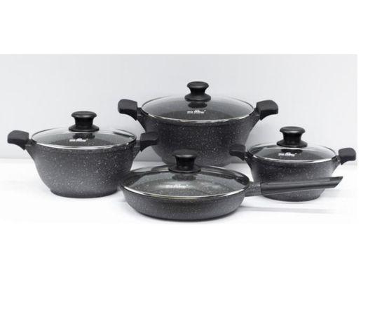 Набор посуды для индукционной плиты индукция стеклокерамика казаны