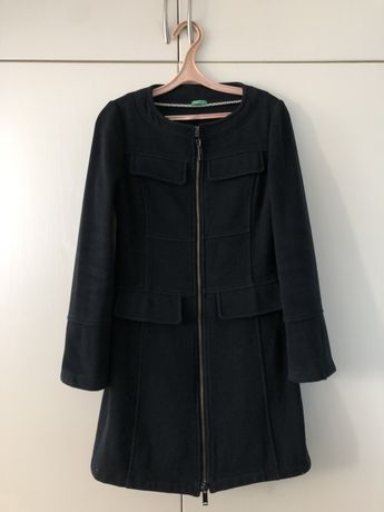 Пальто шерстяное Benetton