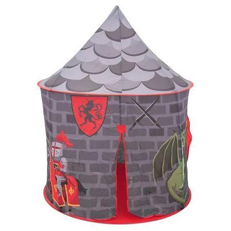 Детска палатка къщичка - Рицарски замък или Замъка на Еднорога