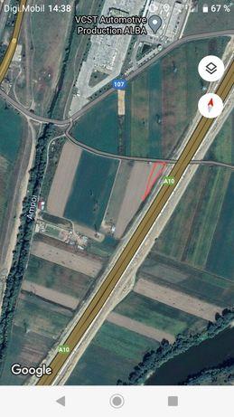 Vand teren Alba Iulia zona autostrada