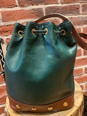 Дамска кожена чанта Philippe Charriol (Bucket bag)