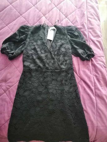MANGO Rochie de seară, neagră, noua, cu eticheta