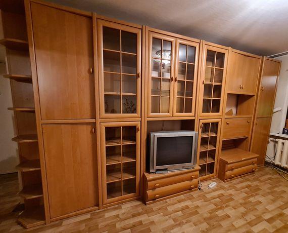 Стенка+телевизор горка Украина Борис модуль шкафы сервант тумба ольха