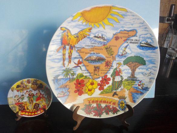 декоративни чинии от тенерифе