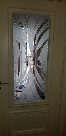 ремонт межкомнатных дверей замена стекла. Замка. фурнитуры