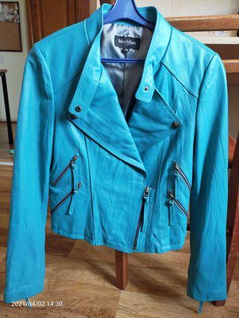 Кожаная куртка Италия 42 размер