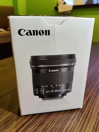 Obiectiv ultrawide Canon EFS 10-18mm f4.5-5.6 IS STM